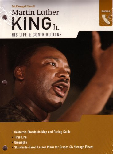 Read Online McDougal Littell World History: African American Poster Martin Luther King Jr. Biography Book Bundle Grades 6-8 PDF