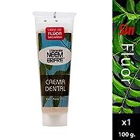 Crema Dental Artesanal de Corteza de Neem/Pasta dental sin fluor/Crema dental sin fluor