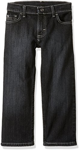 Wrangler Authentics Boys' Husky Athletic Fit Jean, Shadow Black, 18H
