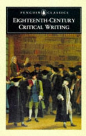 Eighteenth-Century Critical Writing (Penguin Classics)