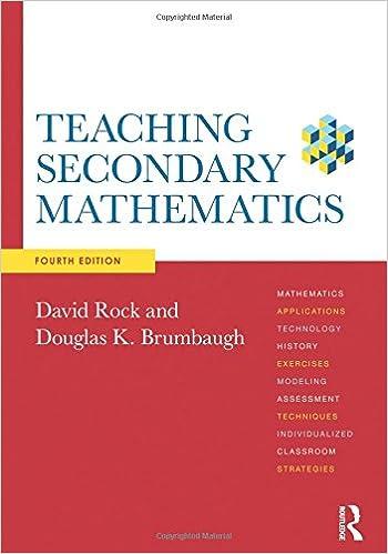 Amazon teaching secondary mathematics 9780415520492 david teaching secondary mathematics 4th edition fandeluxe Choice Image