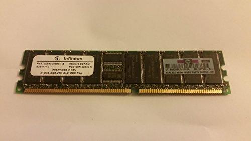MEMORY, HYS72D64500GR-7-B 64MX72 SDRAM PC2100R-20330-M,