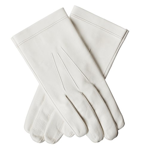 Lundorf Men's Military Officer Gloves Goatskin Unlined 10.5 White by Lundorf