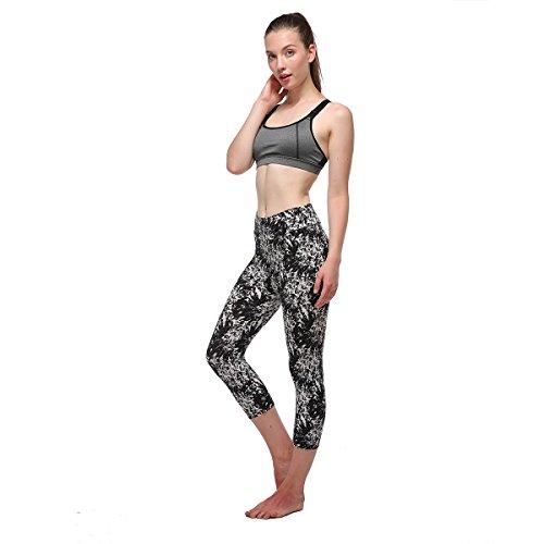 Fliegend Collant 12 Leggings 4 Alta Push Donna Colore Vita Pantaloni Yoga 3 Stampa Leggins Up Pantaloni Sportivi Elastici da rtwR6qErUx