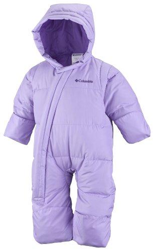 Columbia Sportswear Snow Powder Down Bunting, Sweet Pea, 12 Months
