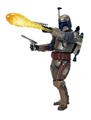 Star Wars: Episode 2 Jango Fett (Final Battle) Action Figure by Hasbro