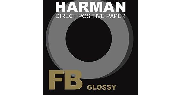 Harman directo positivo papel FB 4x5 25 Hojas