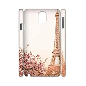 Flower Paris Brand New 3D Cover Case for Samsung Galaxy Note 3 N9000,diy case cover ygtg619032