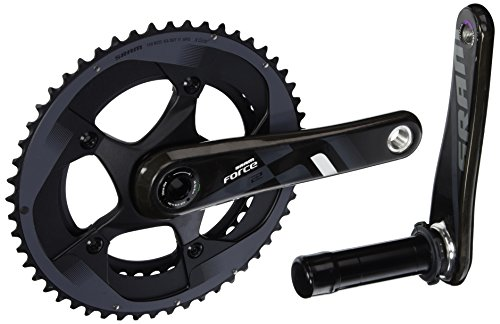 SRAM Force 22 Exogram GXP 165mm 53-39 Crankset; Bottom Bracket Not Included ()