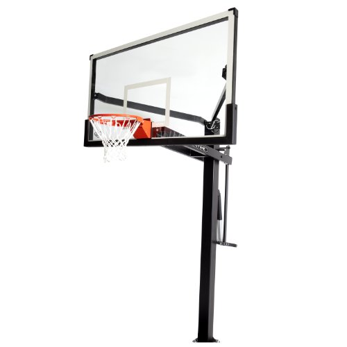 Lifetime 90181 Mammoth In Ground Basketball System, 72 Inch Backboard