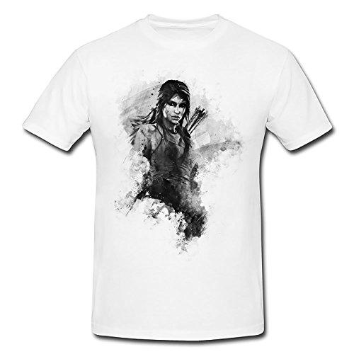 Bogenschuetze Tomb Raider II T-Shirt Herren, Men mit stylischen Motiv von Paul Sinus