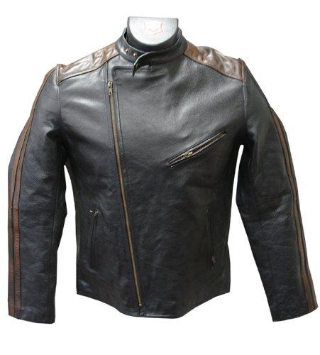 amerileather-mens-dual-leather-stripe-motorcycle-jacket-xx-large-black-brown