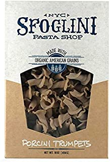 product image for Sfoglini—Porcini Trumpets—Made with Traditional Techniques & Wholesome Organic Grain with an Earthy Mushroom Flavor—6- 16oz Box