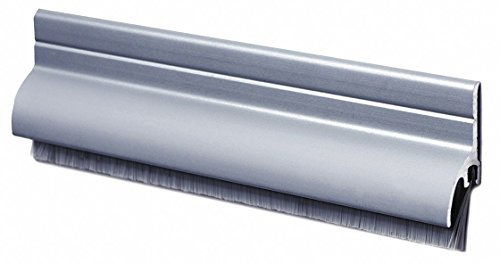 Door Sweep, Anodized Aluminum, 36'' Length, 1-1/4'' Flange Height, 5/8'' Insert Size by Pemko
