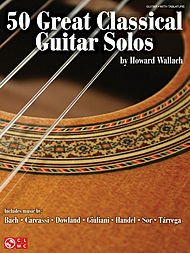 (50 Great Classical Guitar Solos Softcover)