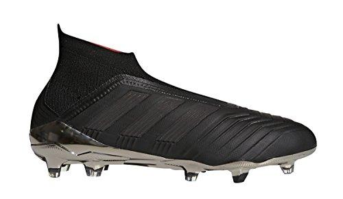 Adidas Mens Prédateur 18+ Fg Football Crampon Core Noir / Core Noir / Réel Corail