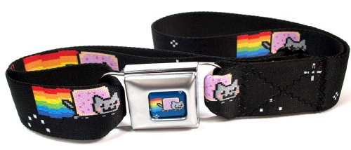 Buckle Down Nyan Seatbelt Belt