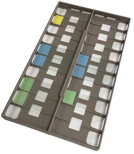 Plastic Slide Holder for InSlide Out Hybridization Oven, Holds 18 1 x 3 Inch Slides