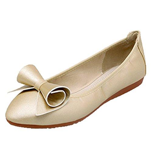 Gold Flats Flats Women's Women's Ballet Ballet Opsun Gold Opsun RBvwv8