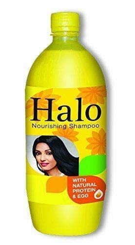 PLANET 007 Halo Nourishing Shampoo with Natural Protein & Egg - 1 Litre Hair Shampoo
