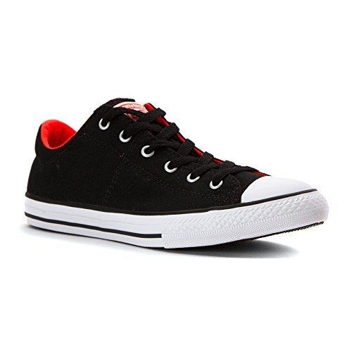 Converse Kids Chuck Taylor All Star Madison Ox Fashion Sneaker Shoe - Black Lava White - Boys - 12, Boy's, Size: 12 M US Little Kid