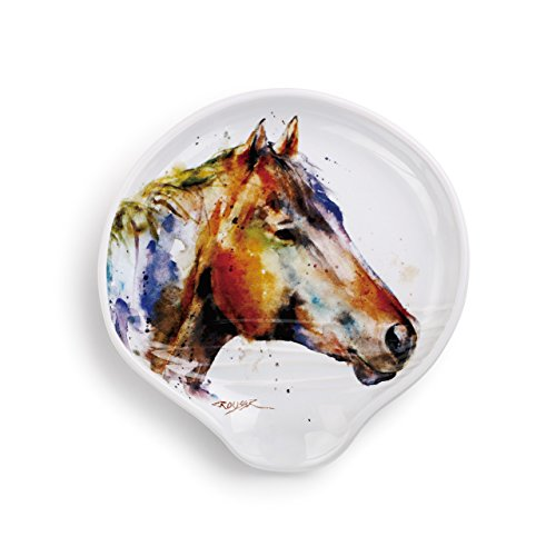 Demdaco 3005051169 Big Sky Carvers Good Lookin' Horse Spoon Rest, Multicolored by Demdaco