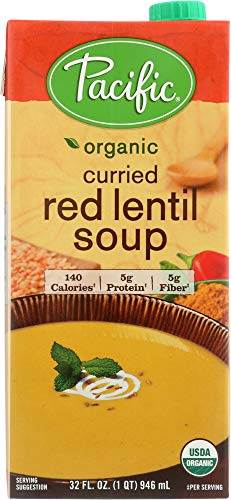 (Pacific Foods (NOT A CASE) Organic Curried Red Lentil Soup)