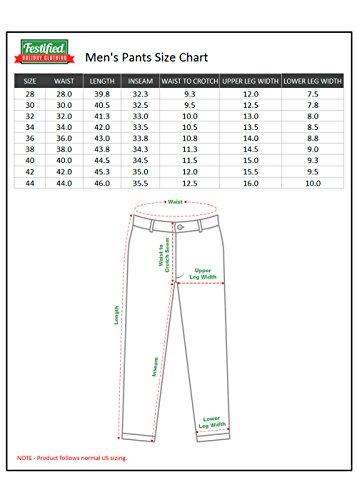 Festified Men's Classic Party Pants In Orange (32) by Festified (Image #4)