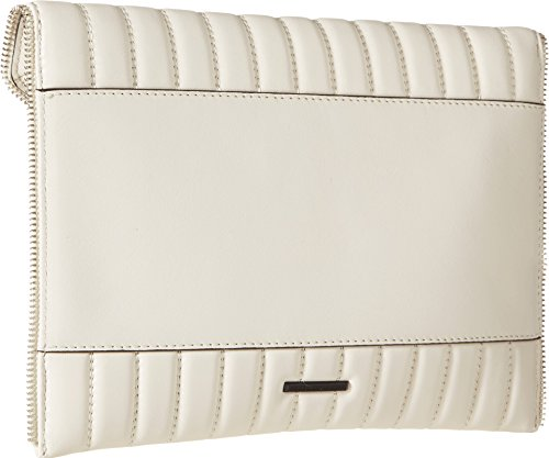 Minkoff White Rebecca Perforated Leo Clutch Antique Oxpq8fn