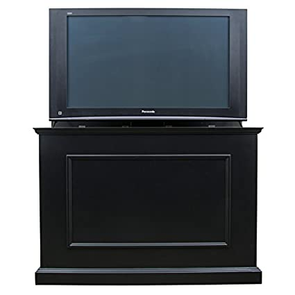 Touchstone Elevate Motorized TV Lift Cabinet U2013 Rich Black Finish U2013 For Flat  Screen TVs Up