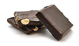 Sugar Free Dark Chocolate Flavored Coating Almond Bark, 1Lb