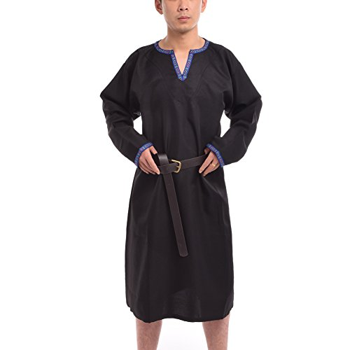 BLESSUME Medieval Knight Tunic Black product image