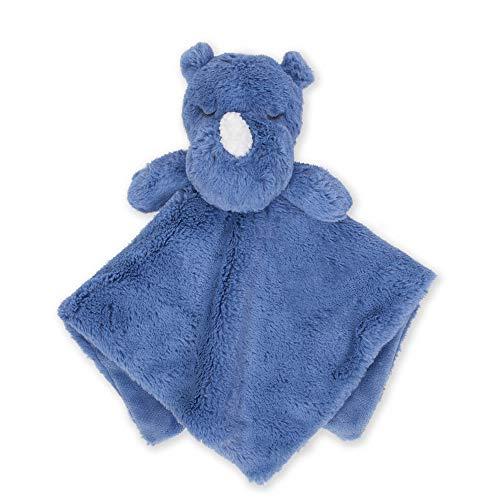 Just Born Cuddleplush Security Blanket, Blue Rhino, One Size