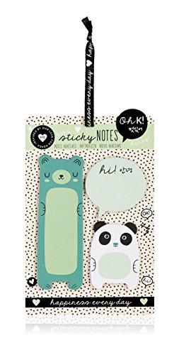 Oh K! 3-Piece Sticky Notes Set