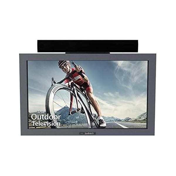 SunBriteTV Outdoor TV 32-Inch Pro Ultra-Bright Full-Sun HDTV LED Television Silver - SB-3211HD-SL 1