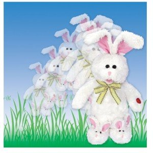 """Chantilly Lane 15"""" Peter Jumping Bunny Sings """"Here Comes Peter Cottontail"""""""