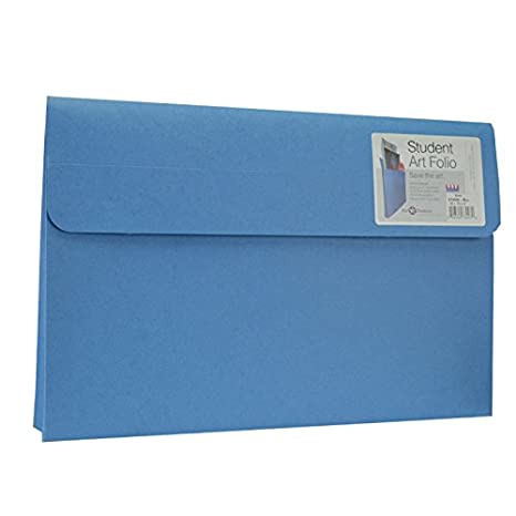 Star Products Student Art Folio Extra-Large Sky Blue 5 Pack