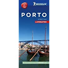 Michelin Porto City Map - Laminated