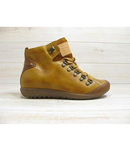 lisboa - Coloris - mustard, Matiere - cuir, Taille - 35