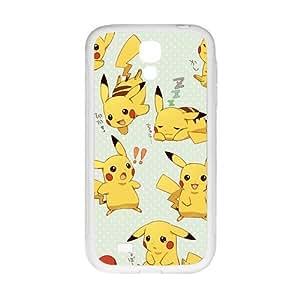 SVF Anime cartoon Pokemon Pikachu Cell Phone Case for Samsung Galaxy S4