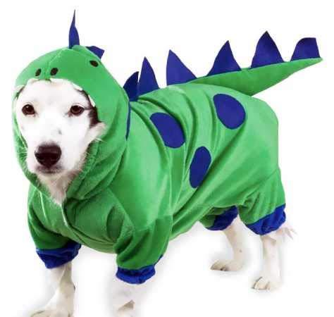 Dogzilla Dinosaur Costumes - Casual Canine Polyester Dogzilla Dinosaur Dog