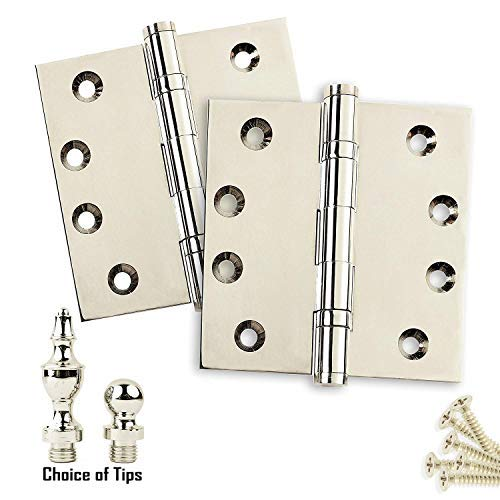 2 Pack Door Hinges 4.5