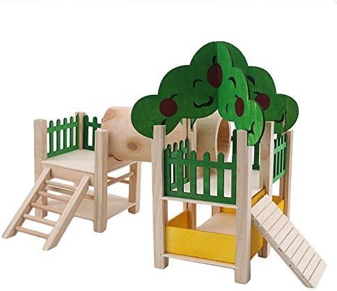 Whz-ZYF 木造住宅のフィッティングケージを給紙にハムスター遊び場遊び場高架ジムジムベビーサークルラダーフィットネスラック 、耐久性