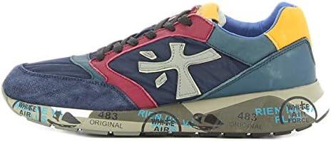 Premiata sneaker blu Zac-Zac 3545 46: Amazon.es: Zapatos y complementos