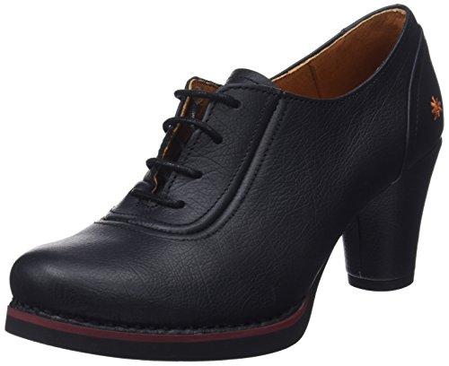Tacón Con Negro Mujer Art Punta Memphis black Para Cerrada Black Zapatos De 7qffAzntI