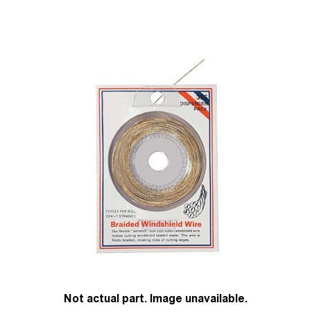 AES Industries Windshield Cutting Wire 1/4lb Spool (0.026