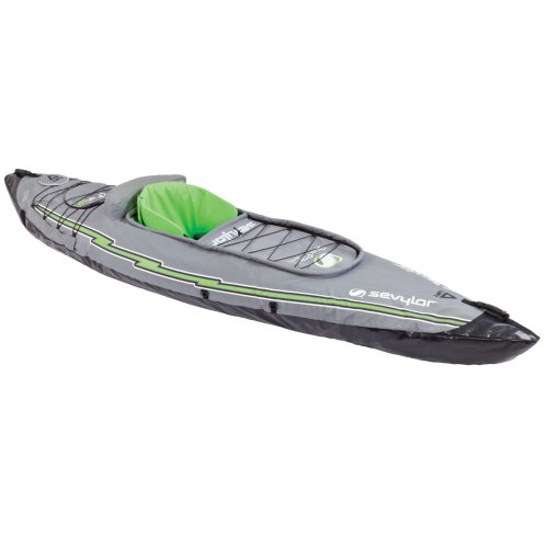 Sevylor Quikpak K5 1-Person Kayak (1 Inflatable And Kayak)