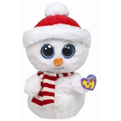 Ty Beanie Boo Buddy Scoops Snowman -