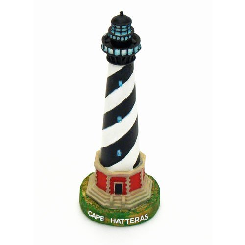 "Chesapeake Bay Cape Hatteras, North Carolina, Lighthouse, 6-3/4"""