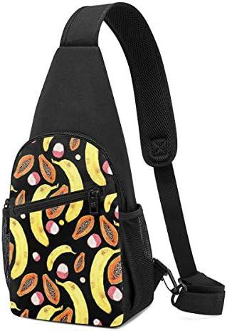 ボディ肩掛け 斜め掛け 果物 ショルダーバッグ ワンショルダーバッグ メンズ 軽量 大容量 多機能レジャーバックパック